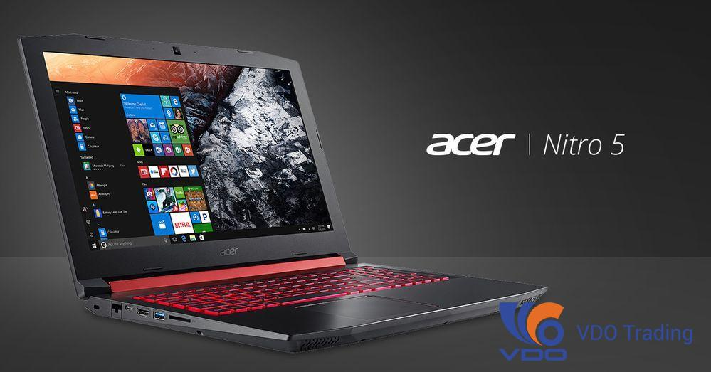 Review Laptop Gaming Acer Nitro 5 Carbon